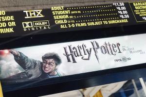 harry potter cd